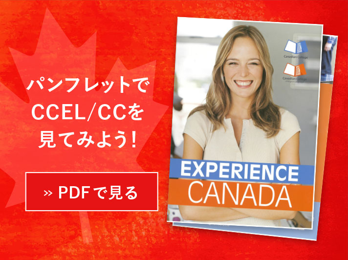 パンフレットでCCEL/CCを見てみよう!